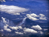 Gunung Sinabung seen from an aircraft (Dan Quinn, September 2013)