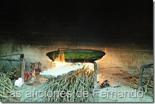 Arroz al fuego de sarmientos