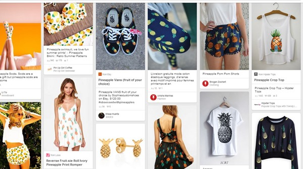 pineapple pinterest screenshot