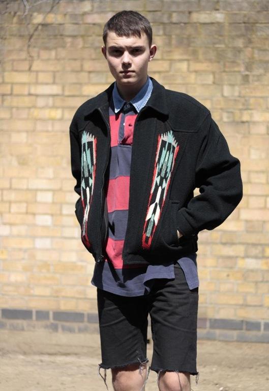 Vintage Aztec Embroidered Zipper Jacket, £55, Sam Greenberg Vintage