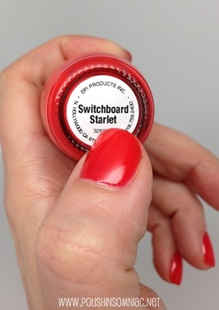 OPI Switchboard Starlet (only 1000 bottles made!)