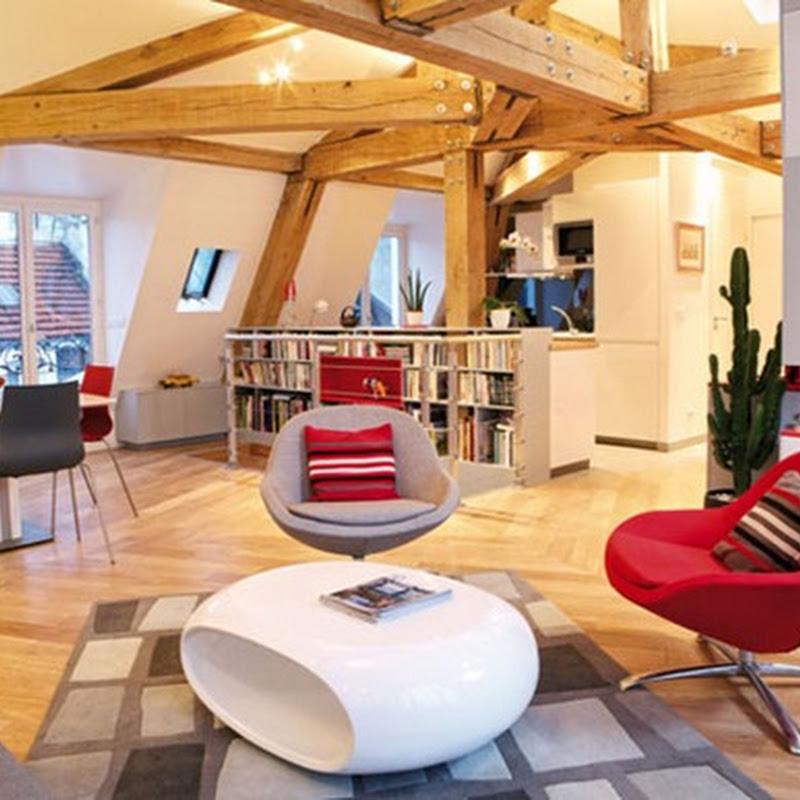 Modelos de casas con techos de viga de madera encantadores for Modelos de techos de casas