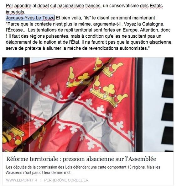 nacionalisme francés dins la premsa parisenca Le Point