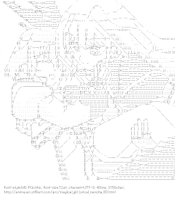 [AA]Reinforce & Yagami Hayate (Magical Girl Lyrical Nanoha)