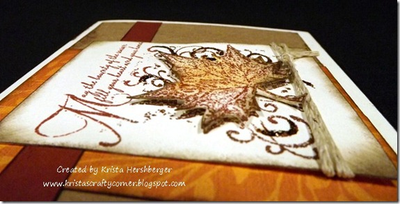 maple leaf card_close up
