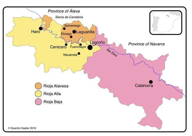 Rioja-Mapa