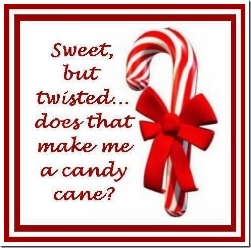 Sweet and Twisted Candy Cane