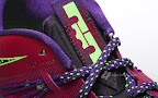 nike lebron 10 low gr purple neon green 3 07 Release Reminder: NIKE LEBRON X LOW Raspberry (579765 601)