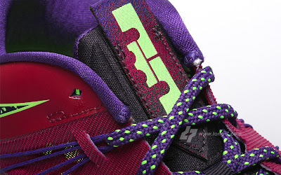 nike lebron 10 low gr purple neon green 3 07 Nike Air Max LeBron X Low Raspberry Official Release Date