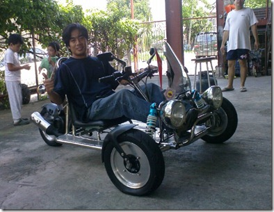 Trike for the Disabled
