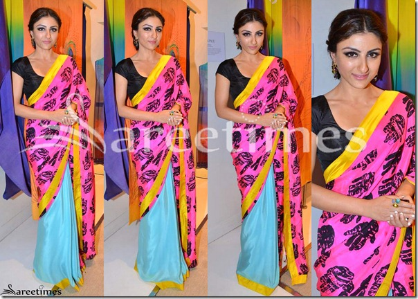 Soha_Ali_Khan_Masaba_Saree