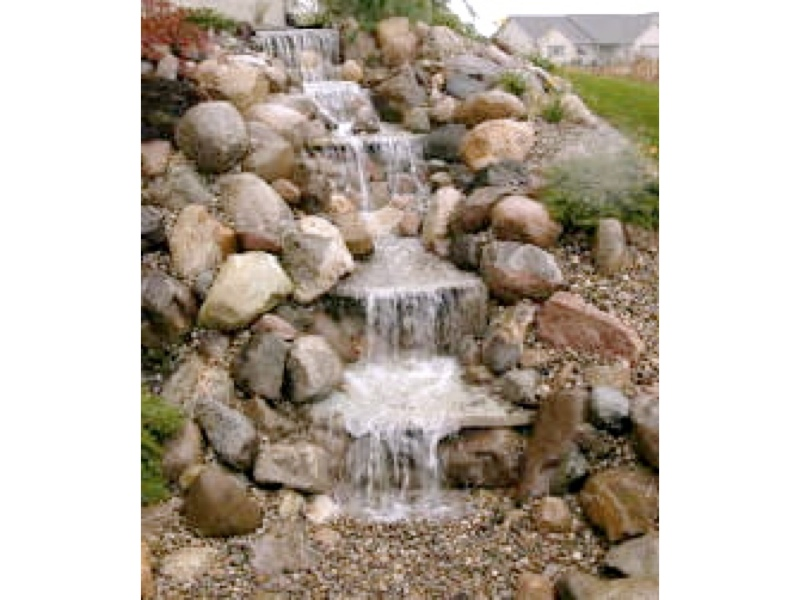 Just a falls pondless waterfall kit small ebay Small waterfall kit