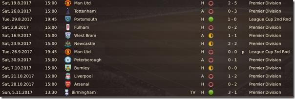 Boston United matches