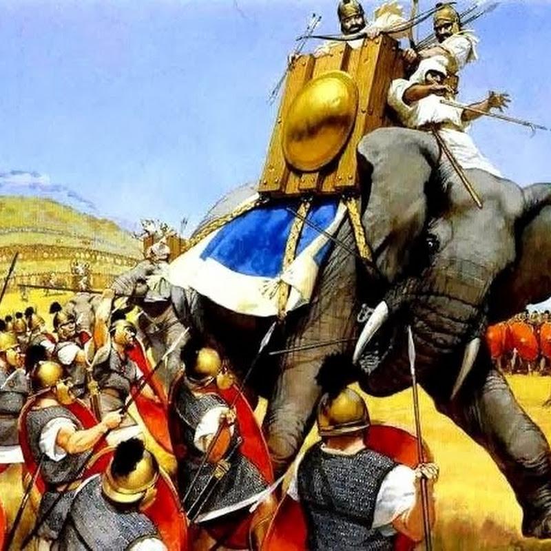 Como vencer um exército de elefantes de guerra?