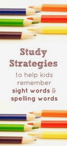 Study Strategies for Spell Words from Fantastic Fun and Learning