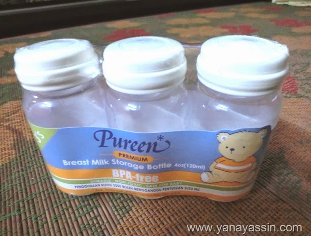 Barangan Pureen Clearance breast milk bottle