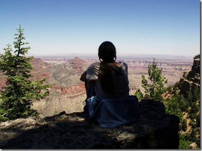 08 Gaelyn looking into canyon from Cape Final NR GRCA NP AZ (1024x758)