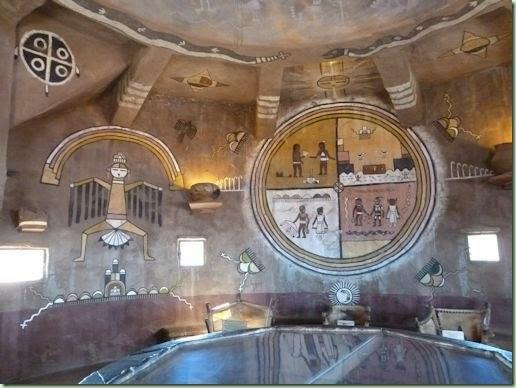 Watchtower inside