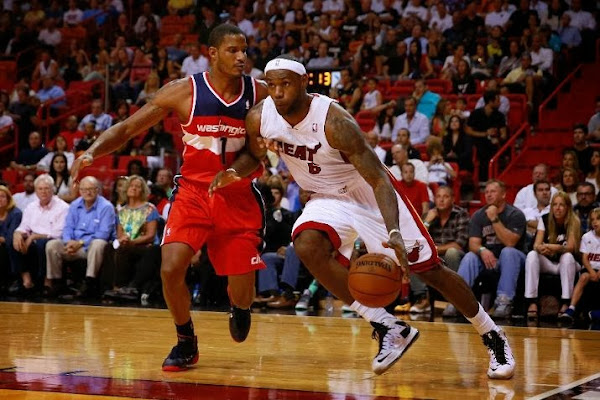 James Wears LeBron X PS Elite Due to Toebox Problems in XI8217s