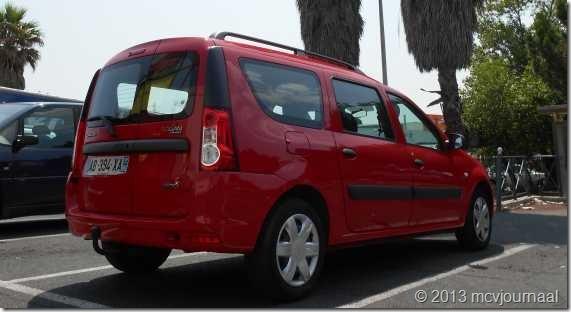 Frankrijk met de Dacia Logan MCV 07