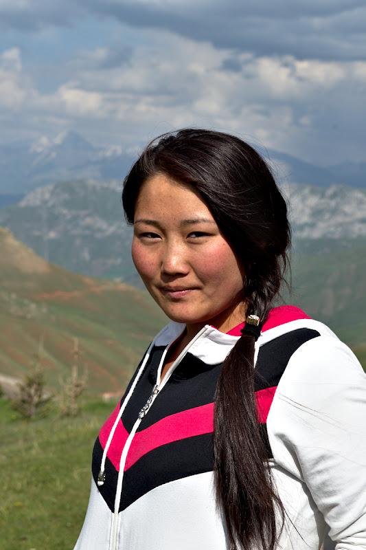 Mona Lisa de Kyrgystan.