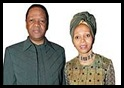 RADEBE Jeff SA JUSTICE MINISTER ZULU - wife 1 Bridgette