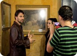 Nanda Costa e Murilo Rosa em entrevista para o Vídeo Show na Casa de Anita - Laguna - Minha Laguna!