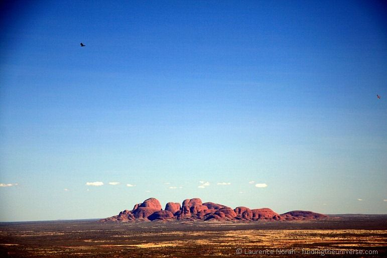 The Olgas as seen from Uluru