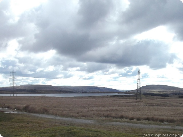 brynmawrs reservoir and pylons
