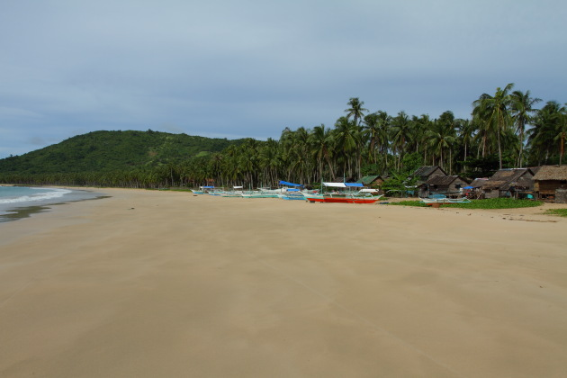 The Super Scenic Nacpan Beach, Palawan, Philippines