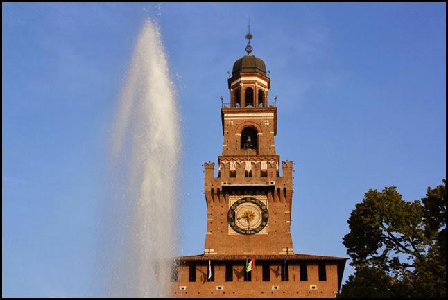 Torre del Filarete Castello Sforzesco Milano
