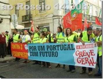14 Novembro Greve Geral.Nov 2012