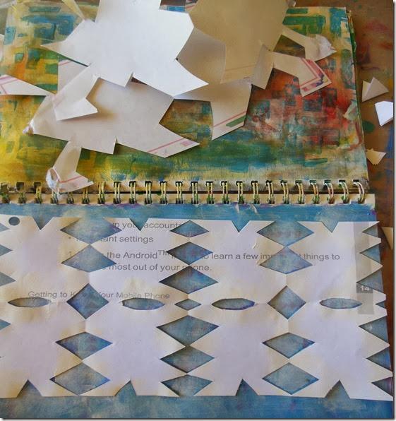 Lilian paper cut