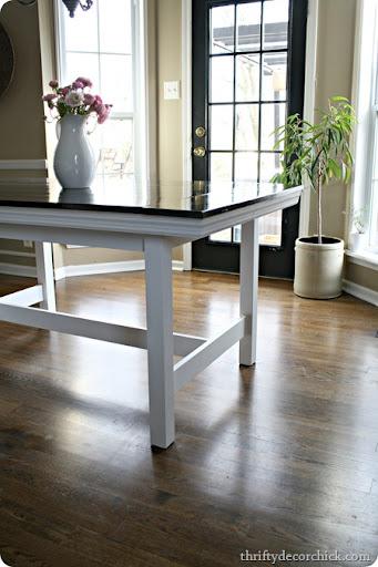 IKEA Table Turned Farmhouse Table