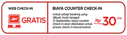 biaya counter check-in