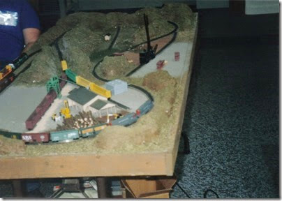 10 N-Scale Layout at the Triangle Mall in November 1997