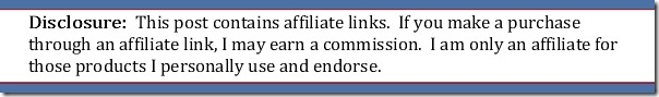 graphic disclosing that this post contains affiliate links