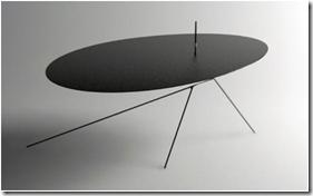 Chiuet Table - table acier