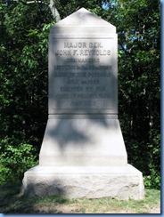 2440 Pennsylvania - Gettysburg, PA - Gettysburg National Military Park Auto Tour - Stop 1 - Major General Reynold's Marker