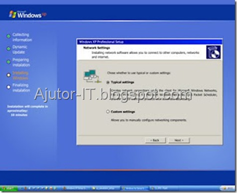 Ghid Instalare Windows XP 12