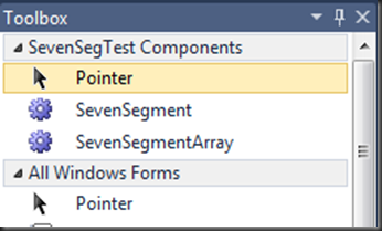 Seven-segment LED Control for .NET
