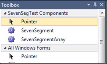 Seven-segment LED Control for .NET