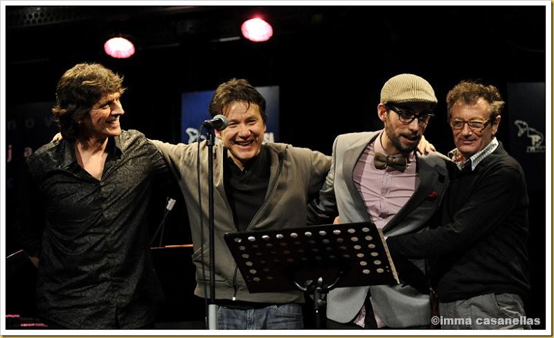 Roger Blàvia, Dudu Penz, Raynald Colom i Jordi Bonell, Terrassa 2013