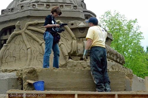 castelo de areia maior do mundo guinnes world book desbaratinando (16)