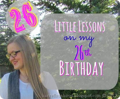 26 little lessons