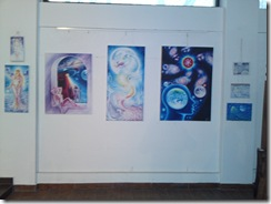 Tablouri inspirate din poeziile lui Mihai Eminescu la expozitia univers Eminescian din Herastrau