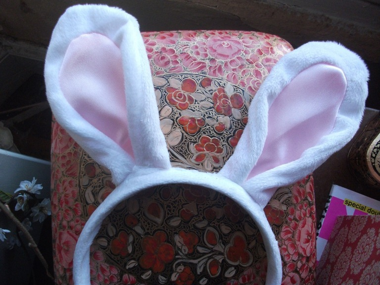 Home Interiors Blogger Bunny Ears