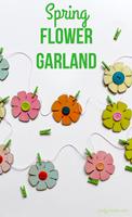 Spring Flower Garland