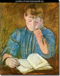 MaryCassatt-ThePensiveReader