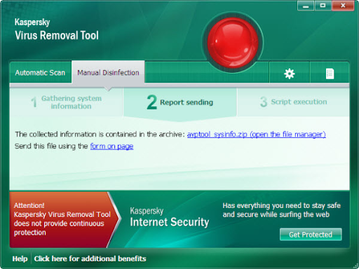 Descargar Kaspersky Virus Removal Tool gratis